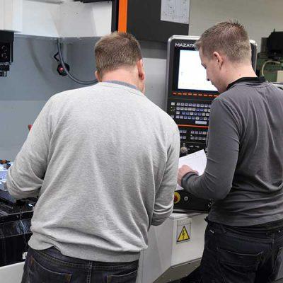 Aeson kenniscentrum voor het verbinden van kunststof machinebouw service